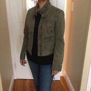 GAP army green canvas jacket